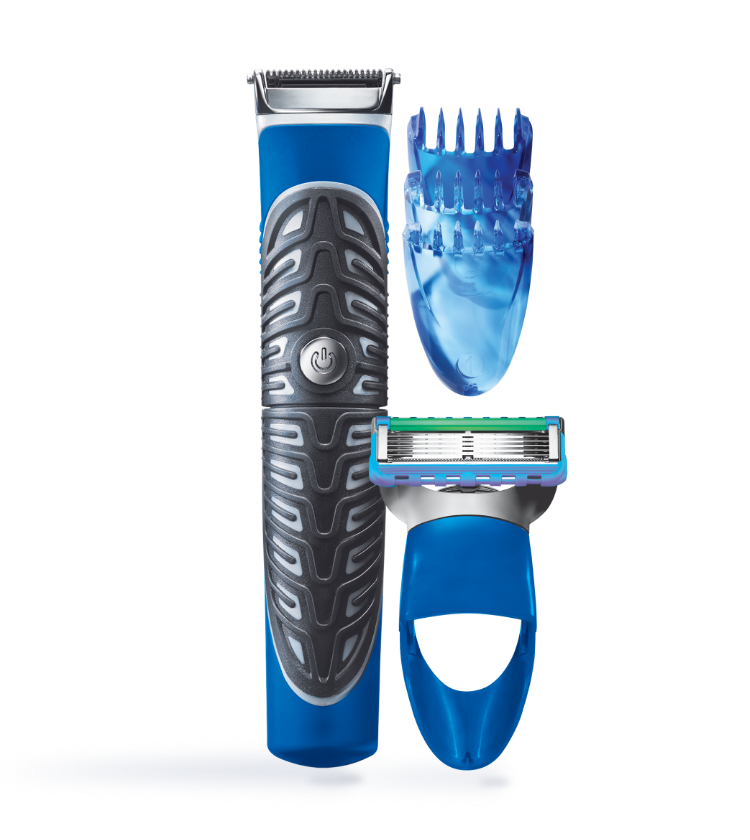 Gillette Styler 3 En 1 - Afeitadora, Recortadora y Delineadora De Barba