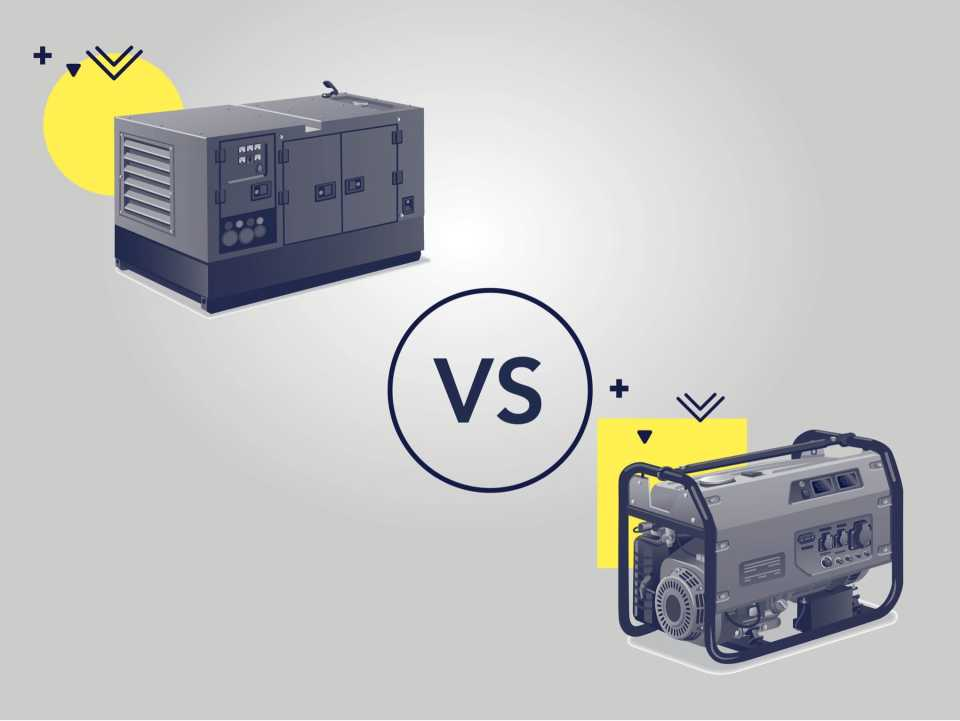 Standby Generators vs. Portable Generators