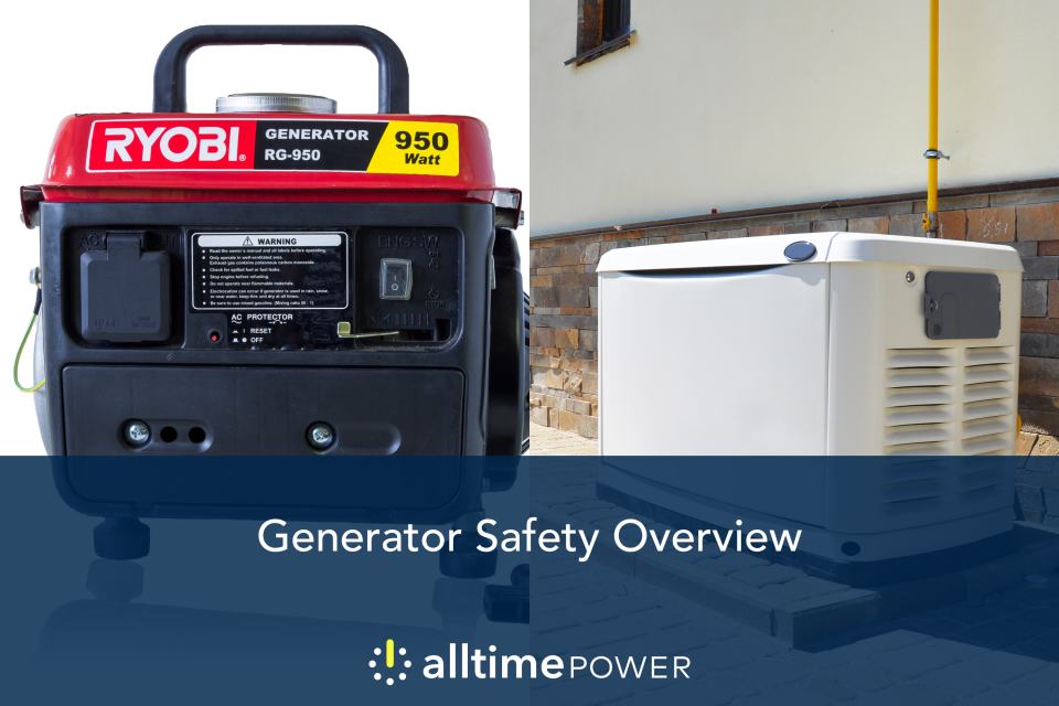 Generator safety overview: How to stay safe and well-powered