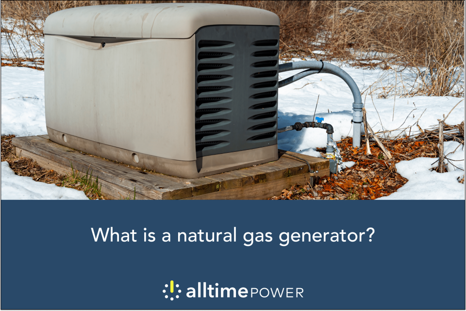 What is a natural gas generator?
