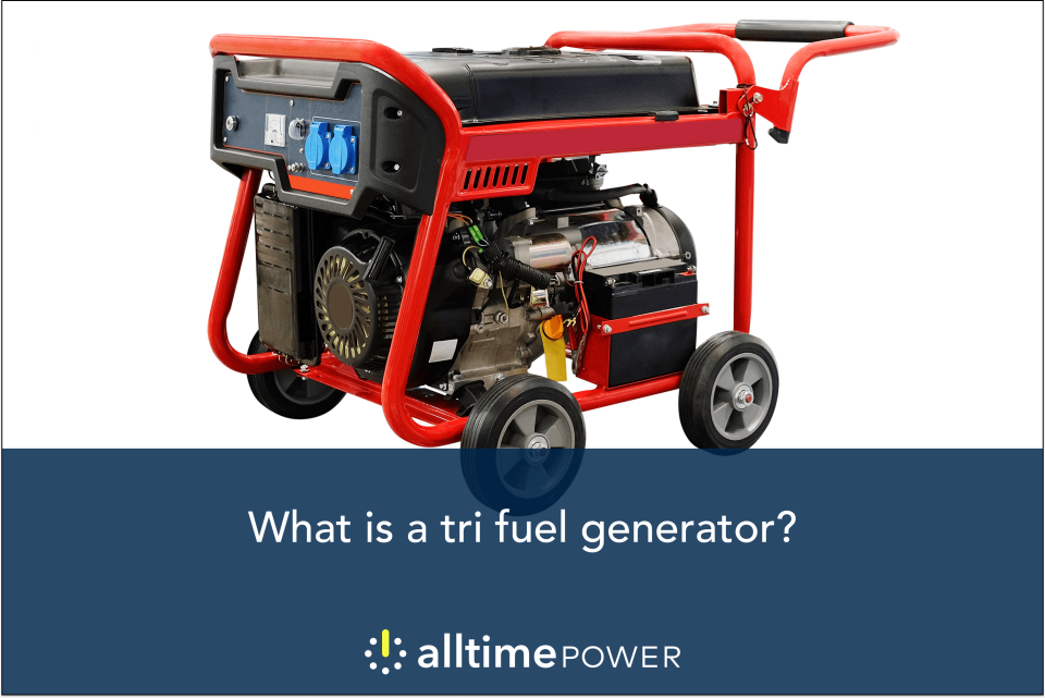 What is a tri fuel generator?