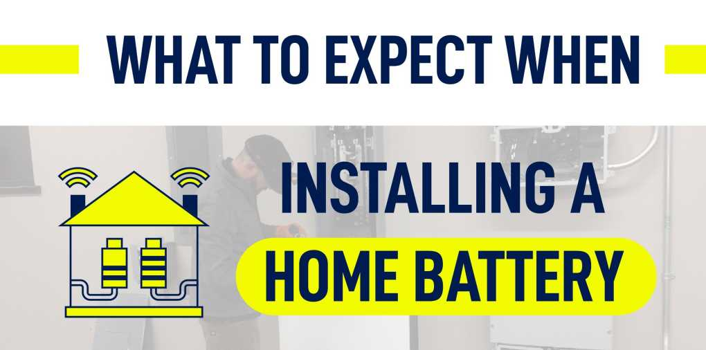 Home battery installation process: What to expect