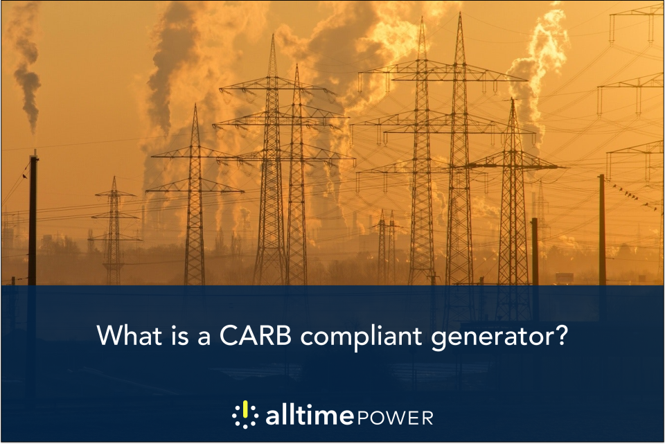 What is a CARB-compliant generator?