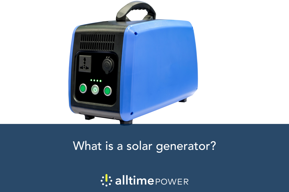 What is a solar generator & how do they work?