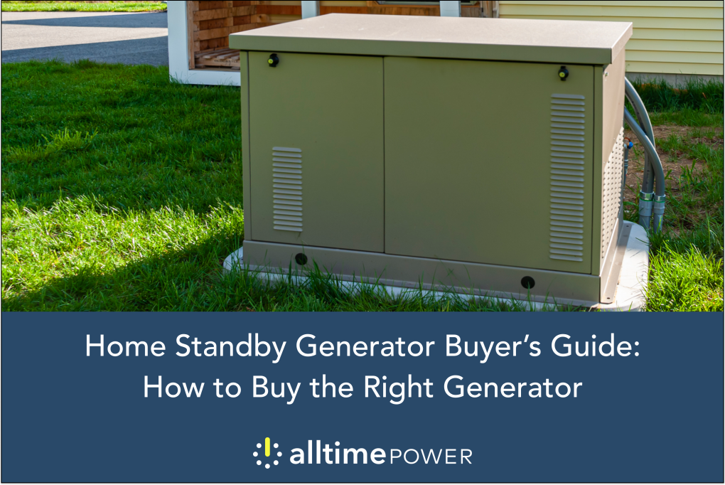 Home Standby Generator Buyer's Guide: How to Buy the Right Generator