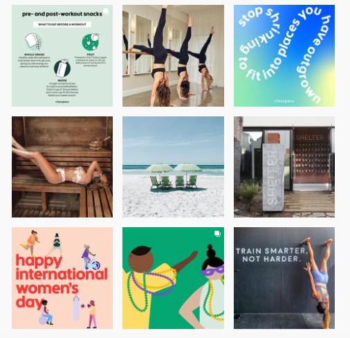 Class Pass Australia Instagram Page