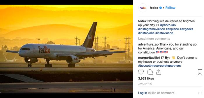 Fedex instagram