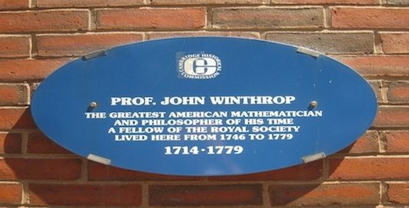 Professor John Winthrop photo 1