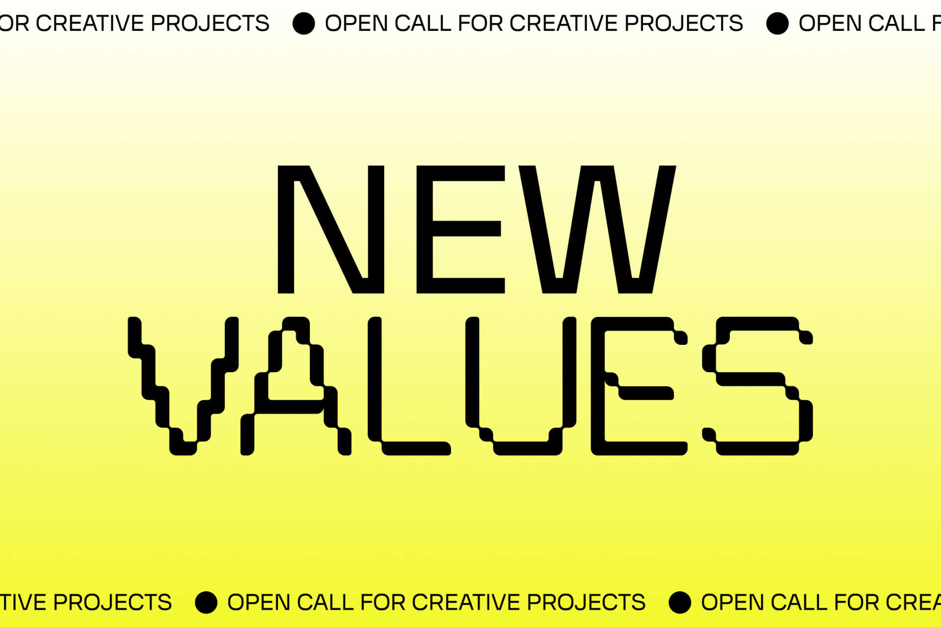 NEW VALUES for a new creative economy