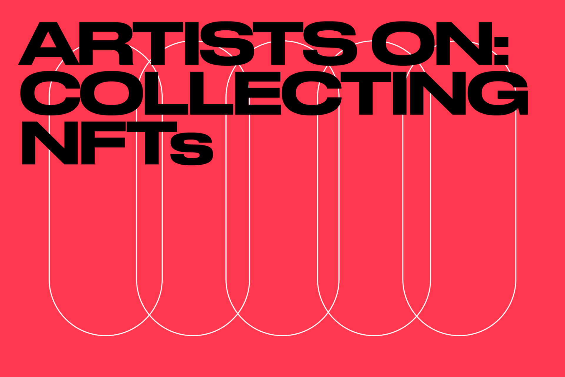 Why artists are collecting each other's NFTs.