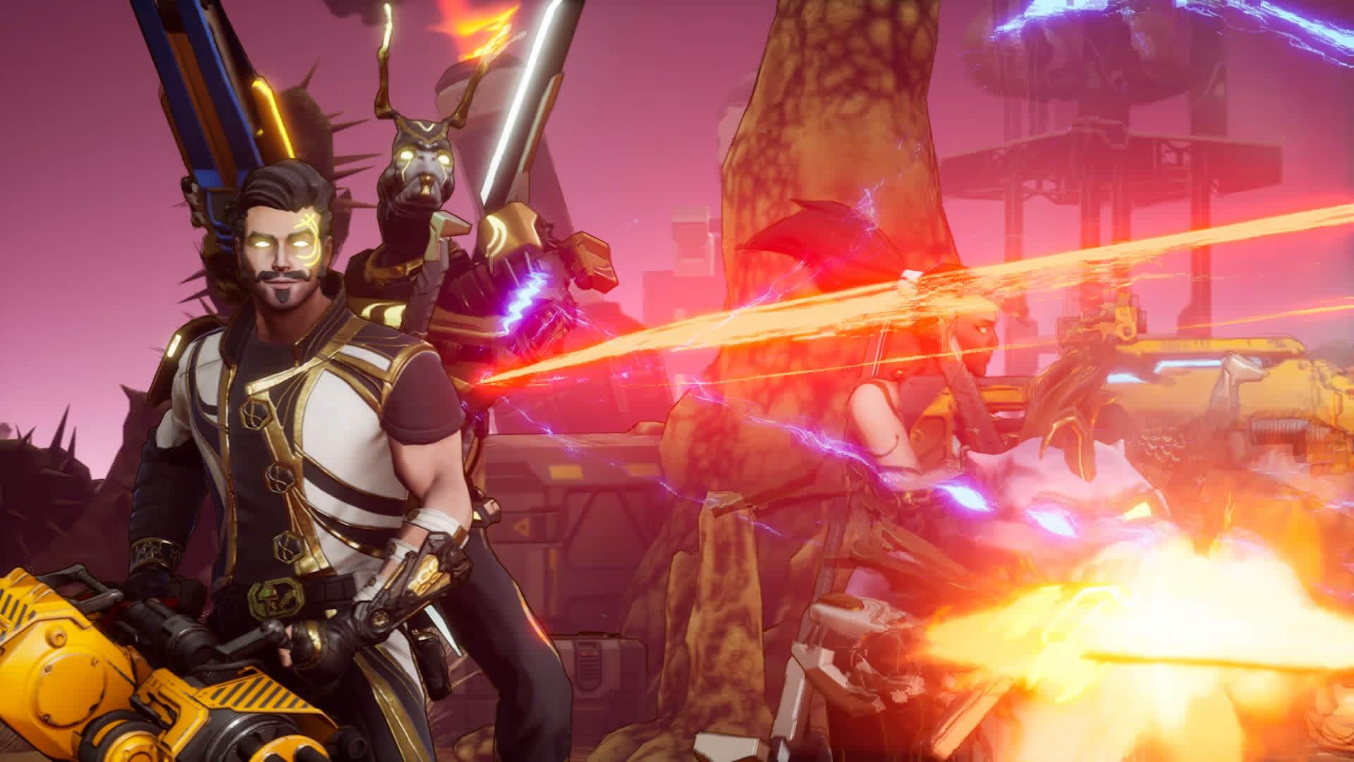 Trailer screenshot of team