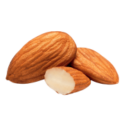 Two and a half almonds