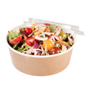 A single refrigerated tray with a salad inside