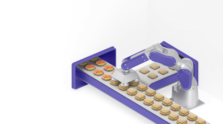 A preview image for a 3D-rendered animation representing frozen meals