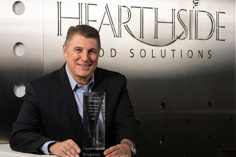 Dwayne Hughes, the Operations Executive of the year for 2018