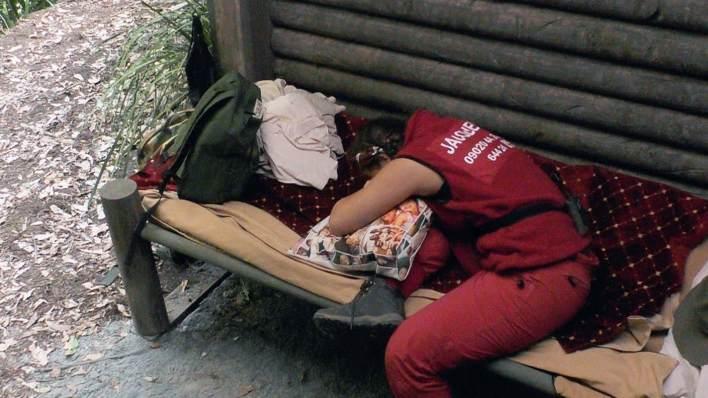Jacqueline Jossa hugs her pillow