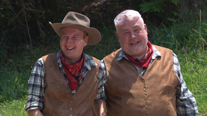 I'm A Celebrity Andy and Cliff