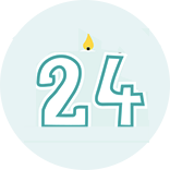 Month 24 Icon