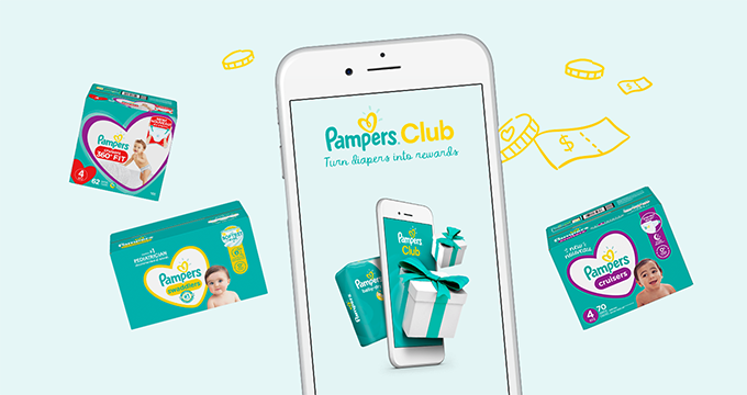Get Pampers Rewards App on your phone