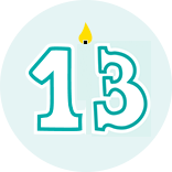 Month 13 Icon