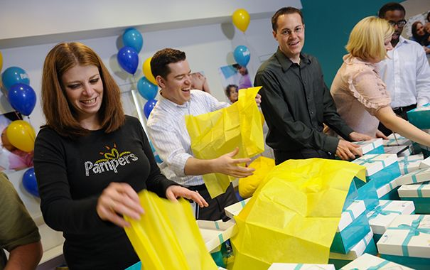 Pampers Helps Communities
