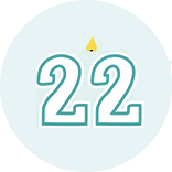 Month 22 Icon