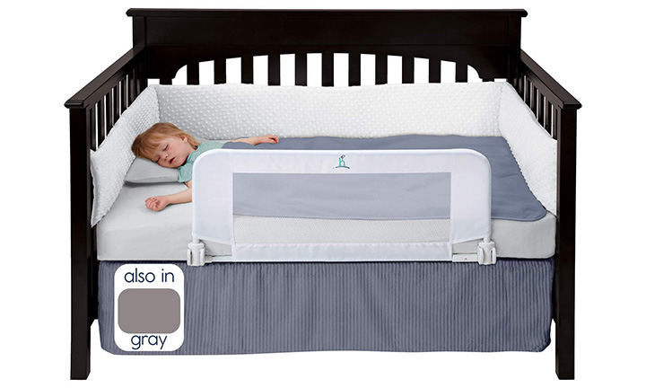 The Best Toddler Bed Rails Pampers, Queen Bed Frame With Guard Rails