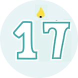 Month 17 Icon