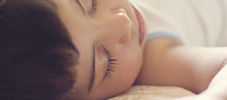 Young baby sleeping