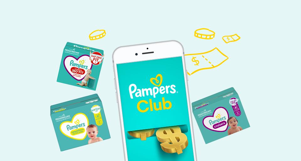 Pampers Rewards - Hero Banner