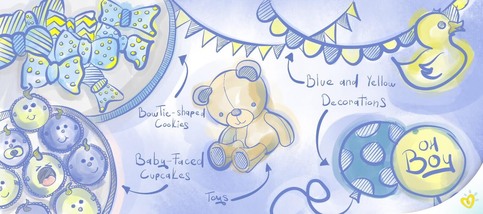 10+ Baby Shower Themes & Ideas for Boys | Pampers