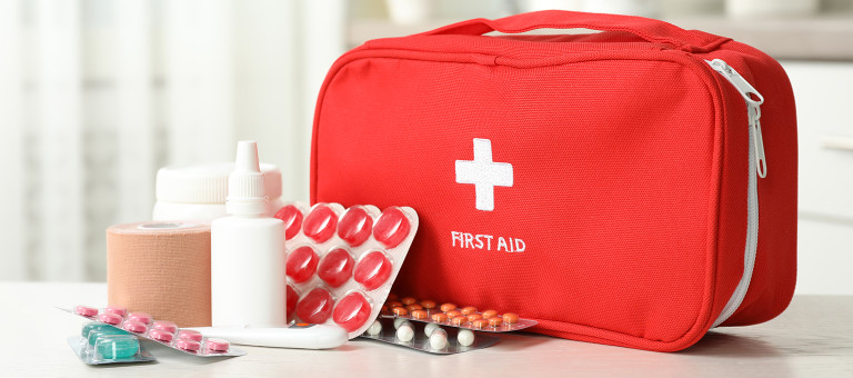 Baby first-aid kit
