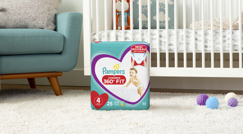 Pampers® Cruisers 360° Fit™
