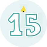 Month 15 Icon