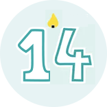 Month 14 Icon