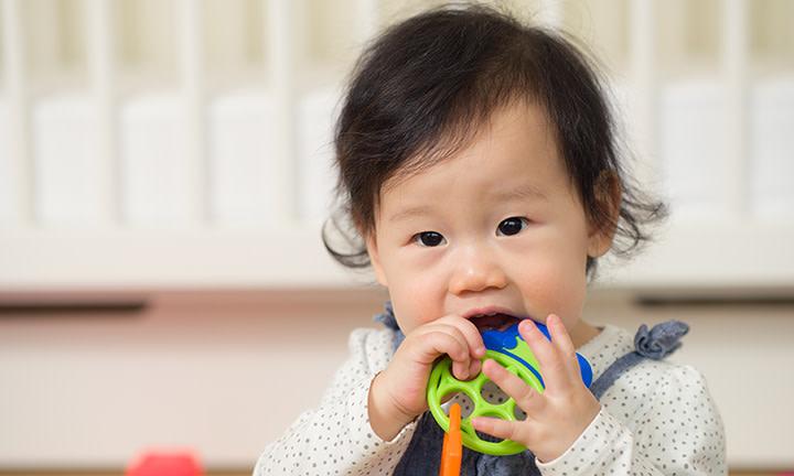Symptoms of teething