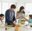 Cocinar con niños