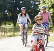 Seguridad infantil - Paseo en Bicicleta