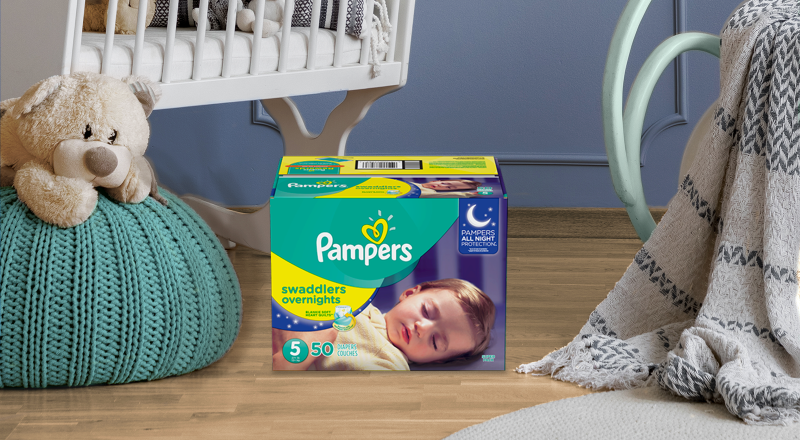 Pampers® Pampers Swaddlers Overnights
