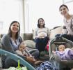 Buscar amistades que también sean mamás