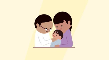 Lesión de dientes del bebé