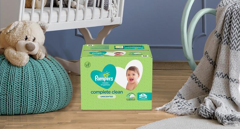 Toallitas Húmedas Pampers® Complete Clean UnScented