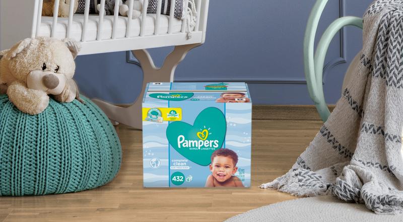 Toallitas Húmedas Pampers® Complete Clean Scented