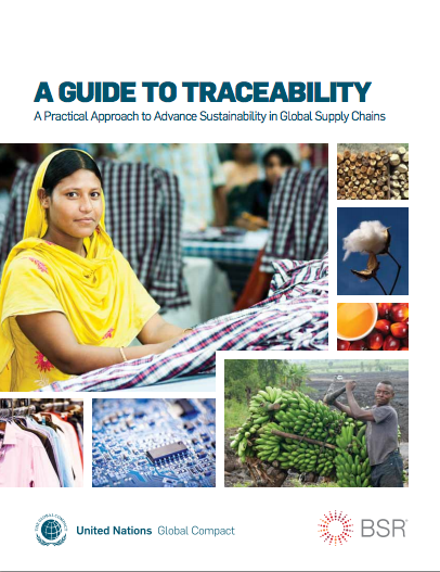 A Guide to Traceability: A Practical Approach to Advance Sustainability in Global Supply Chains cover