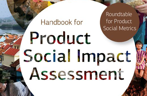 Handbook for Product Social Impact Assessment cover