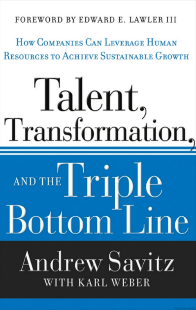 Talent, Transformation, and the Triple Bottom Line cover