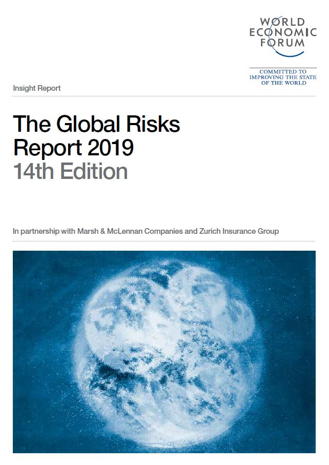 World Economic Forum 2019 Global Risks Report cover