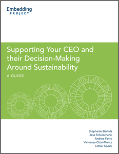 Supporting your CEO cover