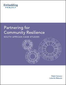 Partnering for Community Resilience: South African Case Studies cover
