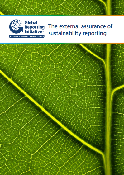 The External Assurance of Sustainability Reporting cover